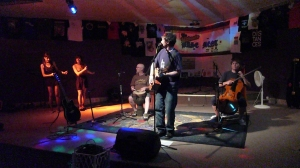 Backing up Wilhelm McKay at the Ultimate Basement