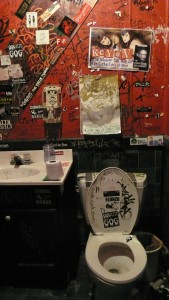 Milestone's authentic punk-rock bathroom - ::tear:: - Charlotte, NC